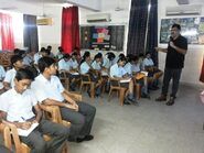 Workshop with students